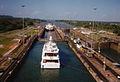 Panama Canal locks 1994 ships.jpg