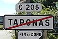 Panneau sortie Taponas 2.jpg