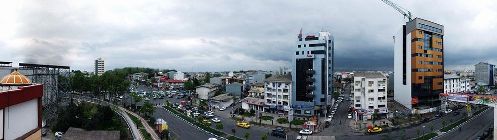 Панорамный вид района Бусар