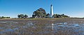 Panorama of lighthouse seen from bay St. Marks NWR 2020-01-25.jpg