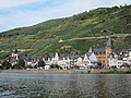 """Panoramic """"riverview"""" at Zell along the Mosel river at 26 August 2015 - panoramio.jpg"""