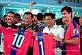 Pantaleon Alvarez and Rodrigo Duterte Davao Aguilas honorary kit.jpg