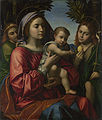 Paolo Morando - The Virgin and Child, Saint John the Baptist and an Angel - Google Art Project.jpg