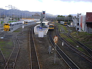 Papakura Railway Station - The station in 2009, before its 2012 upgrade