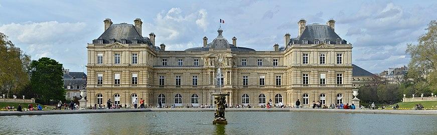 Luxembourg palace wikipedia for Au jardin du port le palais