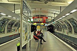 Porte de versailles m tro de paris wikip dia - Trajet metro gare de lyon porte de versailles ...