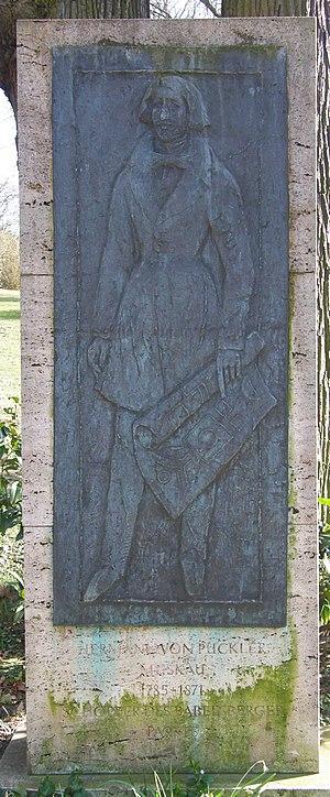 Babelsberg Park - Monument to Pückler-Muskau in Babelsberg Park