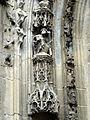 Parnes (60), église Saint-Josse, statuettes du portail 1.jpg