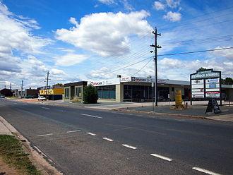 Fyshwick, Australian Capital Territory - A typical streetscape in Fyshwick