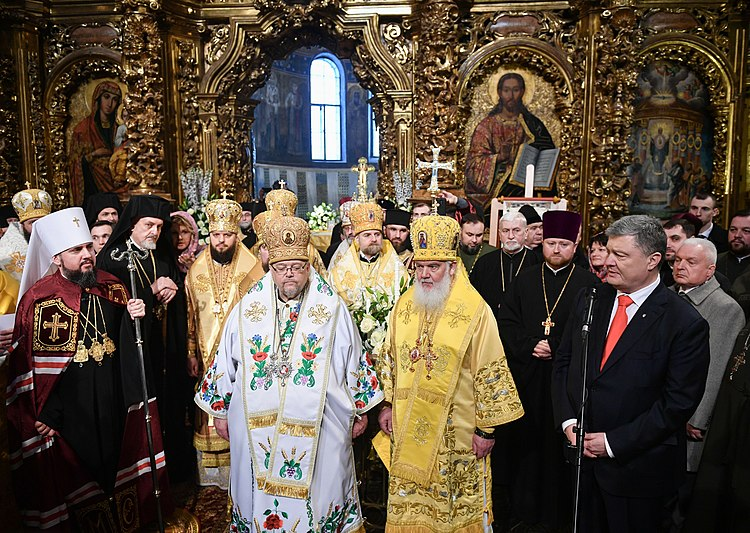 Participation in the liturgy and enthronement of the Primate of the Orthodox Church of Ukraine (2019-02-03) 15.jpeg