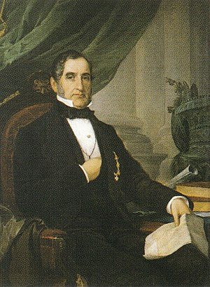 Tito Agujari - Portrait by Baron Pasquale Revoltella (1862)