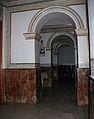 Passos entre capelles laterals, església de santa Maria de Cocentaina.JPG