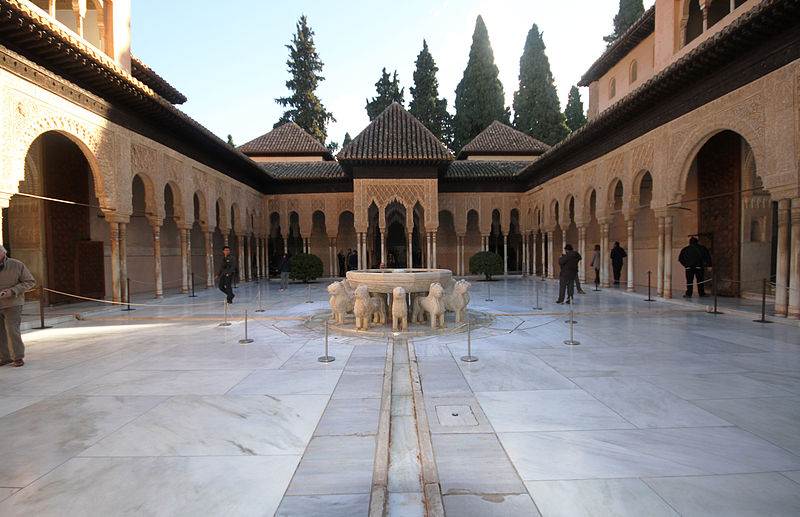 File:Patio de los Leones - Alhambra.JPG