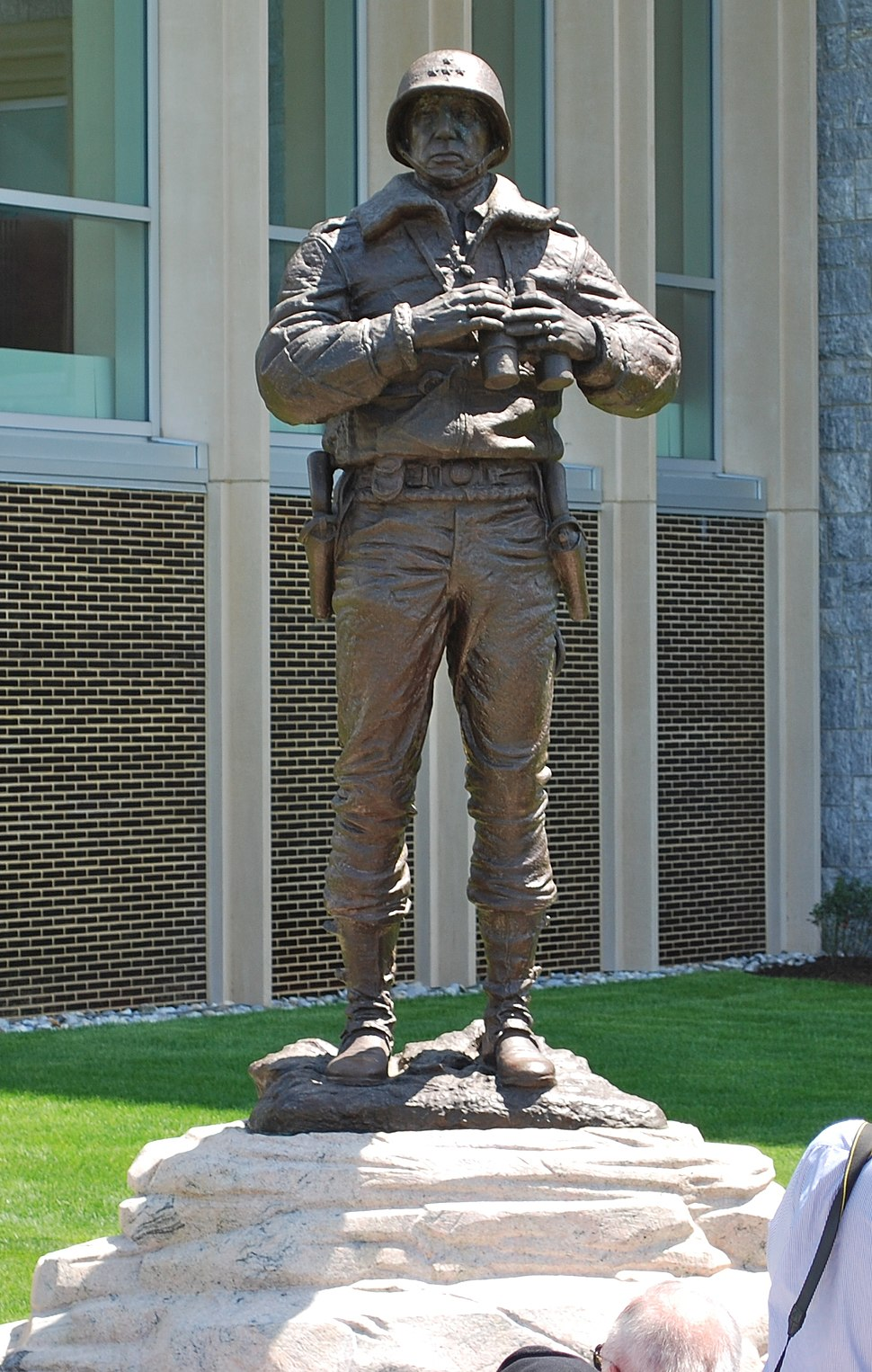 Patton Monument West Point in new location 2009 upright