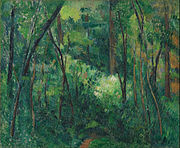 Paul Cézanne - Interior of a forest - Google Art Project.jpg