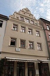 Paul Gerhardt's house, Collegienstraße, Wittenberg (Source: Wikimedia)