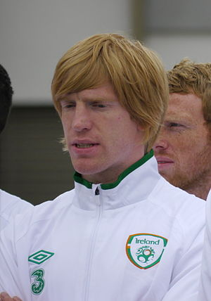 Paul McShane (footballer) - McShane with the Republic of Ireland in 2012