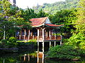 Pavilion beside Shuangxi Park Pond Shore 20131010a.jpg