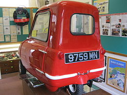 Peel P50 at Manx Transport Museum, Peel, Isle of Man (7965568732).jpg