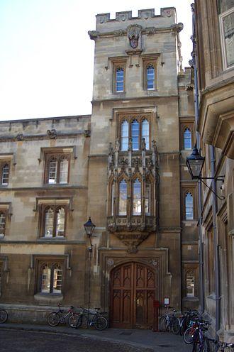 Samuel Johnson - Entrance of Pembroke College, Oxford