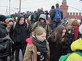 People came to the side of Boris Nemtsov's murder (2015-02-28; 08).JPG