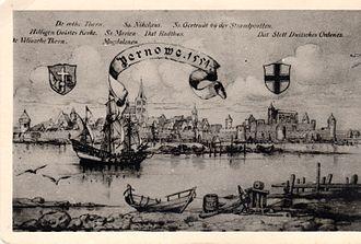 Pärnu - Pärnu in 1554