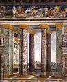 Peruzzi Sala delle Prospettive, Villa Farnesina, Rome 04.jpg