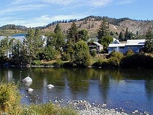Peshastin, Washington - Peshastin from the banks of the Wenatchee River
