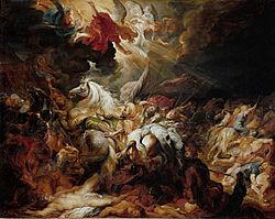 Peter Paul Rubens: The Defeat of Sennacherib