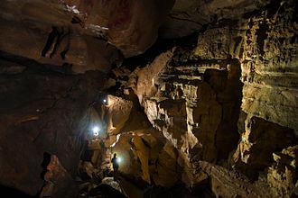 Pettyjohn Cave - First Room of Pettyjohn Cave