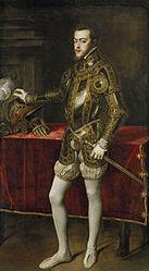 Titian: Philip II in Armour