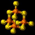 Phosphorus pentasulfide 3D ball.png