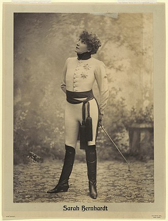L'Aiglon - Sarah Bernhardt as L'Aiglon (1900)