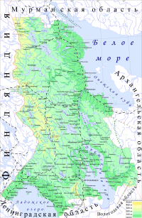Physical map of the Republic of Karelia.png