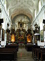 Pińczów church - inside.JPG