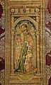 Pianeta con santi, in damasco paonazzo broccato d'oro e ricami, dal duomo di massa marittima, 1490 ca. 03 jacopo.jpg