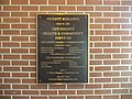 Pickett Building, Tift County Health Department plaque.JPG