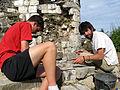 Picquigny (29 juillet 2009) chantier château 08.jpg
