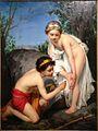 Pierre Dupuis, Jeune fille piquée par un reptile.jpg