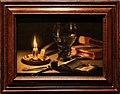 Pieter claesz., natura morta con candela accesa, 1627.jpg