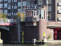 Pieter de Hoochbrug - Delfshaven - Rotterdam - Bridge operator's house from the northwest.jpg