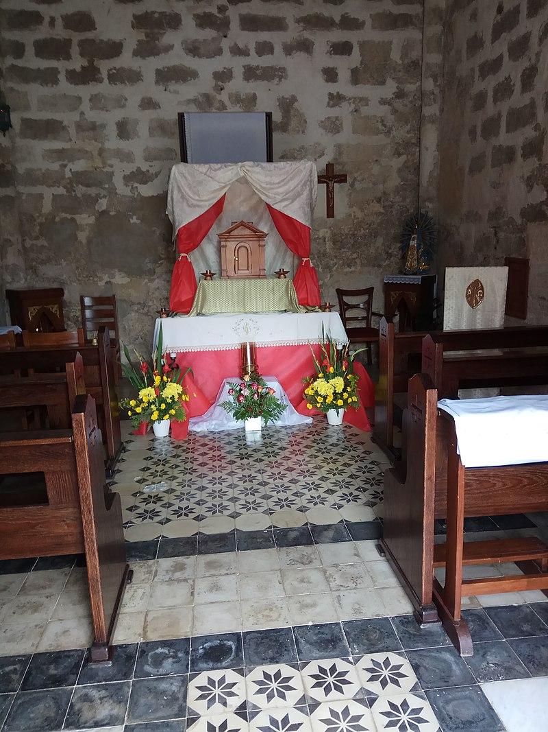 הכנסייה הצלבנית בציפורי