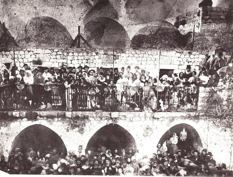 החגיגות במירון 1890