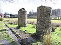 Pillars at Mullaghmore, Omagh - geograph.org.uk - 146502.jpg