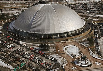 Retractable roof - Civic Arena, built in 1961