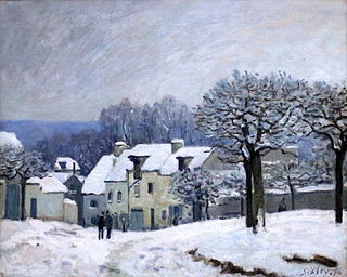 painting by Alfred Sisley