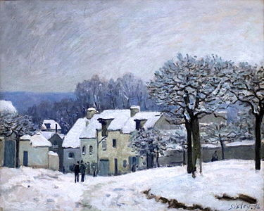Alfred sisley wikip dia - La ren des neige ...