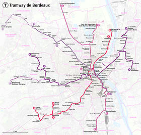 Image illustrative de l'article Tramway de Bordeaux