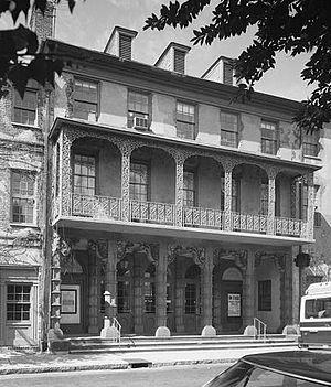 Thomas Gibson - Charleston's historic Dock Street Theatre