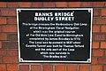 Plaque on Dudley St bridge - geograph.org.uk - 1420539.jpg